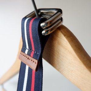 🐝  Nautical Fabric Belt  NWOT